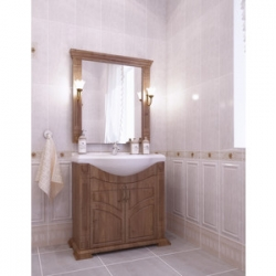 Мебель для ванной Venecia 80(св. Орех) Sfarzo