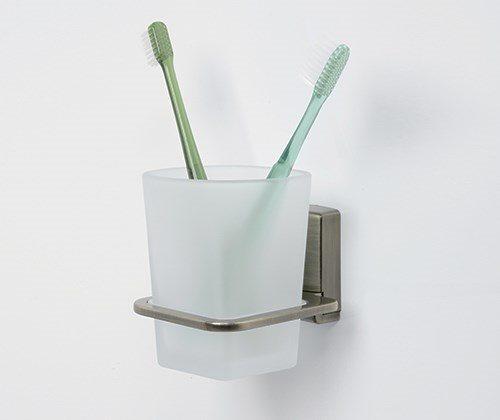 К-5228 Стакан для зубных щеток стеклянный