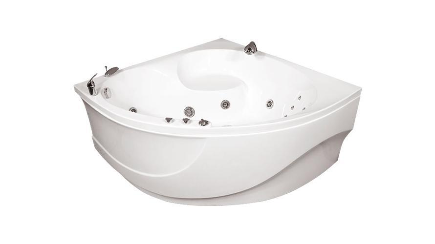 Акриловая ванна ЭРИКА1400 x 1400 x 640 мм