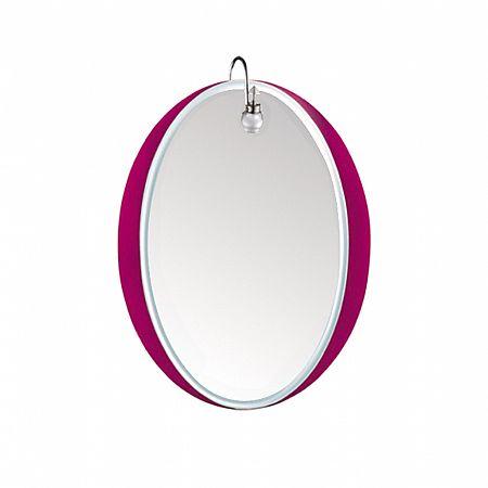 Зеркало LEDEME L617 овал сиреневое 80х60