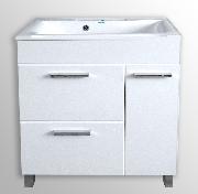 Эмилия тумба напольная (2 ящика, 1 дверь)