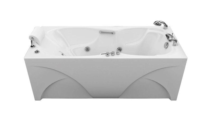 Акриловая ванна «ЦЕЗАРЬ» 1800 x 800 x 645 мм