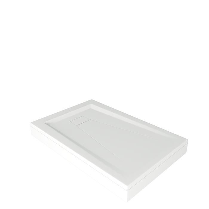 Прямоугольные поддоны «АТРИУМ» 110х80 см., 120х80 см., 120х90 см., 130х90 см., 140х90 см.