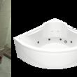 Акриловая ванна Ирис 1500х1500мм
