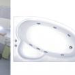Акриловая ванна Сагра (левая/правая ) 1600х1000мм