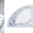 Акриловая ванна Лагуна (левая/правая ) 1700х1100мм
